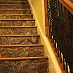 Custom stairs by Gustafson