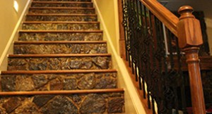 Custom stairs by Gustafson